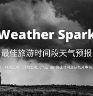 天气预报服务WeatherSpark