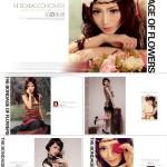 最新韩式艺术PSD个人情侣写真照影楼样册设计素材模版