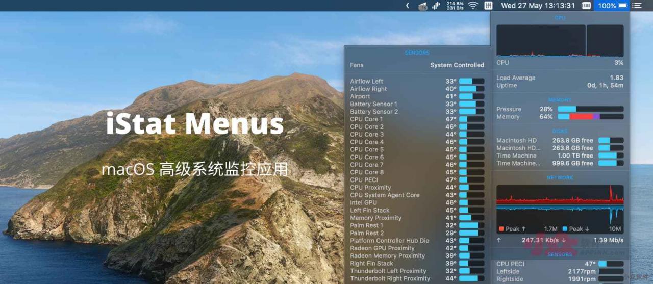 2021 Epic BundleHunt:51 款正版软件捆绑包,包含 iStat Menus,支持支付宝付款 2